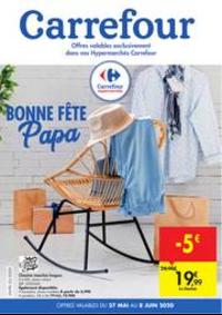 Prospectus Carrefour Market COUVIN : folder Carrefour Market