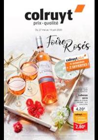 Prospectus Colruyt PONTARLIER : Foire aux rosés