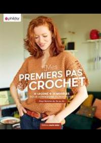 Prospectus Phildar distributeur Audincourt : Premier Pas au Crochet