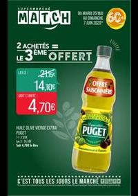 Prospectus Supermarchés Match Huningue : 2 achetés = le 3ème offert