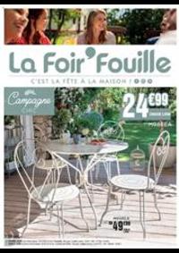 Prospectus La Foir'Fouille Hagondange : C'est la fête à la maison!