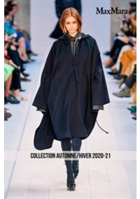 Catalogues et collections Max Mara Le Chesnay  : Collection AutomneHiver 2020-21