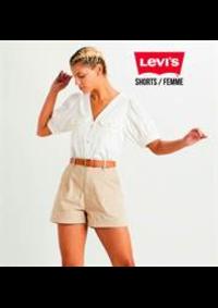 Prospectus Levi's Store Les 3 Fontaines : Shorts / Femme