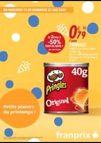 Prospectus Franprix PARIS 21 rue Angélique Compoint : Petits plaisirs du printemps!