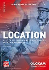 Prospectus Loxam PARIS : Tarif Particulier 2020