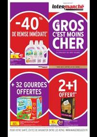 Prospectus Intermarché Super Saint-Etienne 4 rue Robert Cancet : GROS EN C'EST MOINS CHER