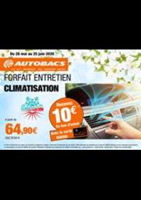 Prospectus autobacs Rosny-sous-Bois : Climatisation