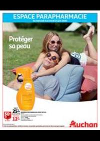 Prospectus Auchan CERGY : Protéger sa peau