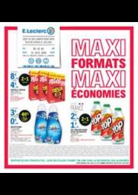 Prospectus E.Leclerc EPINAY SUR SEINE SAINT LEU : MAXI FORMATS MAXI ÉCONOMIES