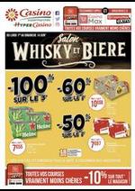 Prospectus Supermarchés Casino : Salon whisky et bière