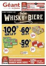 Prospectus Géant Casino : Salon Whisky et bière