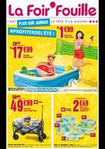 Prospectus La Foir'Fouille : Plus que jamais profiter de l'été!