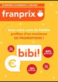 Promos et remises Franprix : Profitez d'un máximum de promotions!