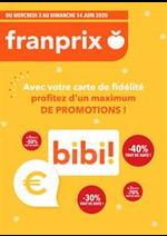 Prospectus Franprix : Profitez d'un máximum de promotions!