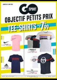 Prospectus Go Sport CLERMONT JAUDE : Objectif petits prix