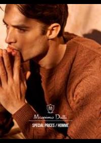 Prospectus Massimo Dutti PARIS : Special Prices / Homme