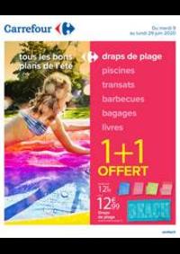 Promos et remises Carrefour ISSOIRE : Tous les bons plans de l'été