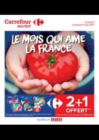 Promos et remises Carrefour Market HYERES : Le mois qui aime la France