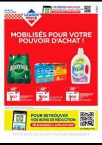 Prospectus Leader Price Issoire : Mobilisés pour votre pouvoir d'achat !