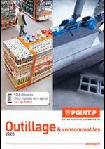 Journaux et magazines Point P : Catalogue Outillage 2020