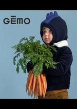 Prospectus Gemo : Nouveautés Garçon