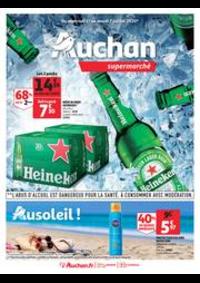 Prospectus Auchan Vélizy : Au soleil !