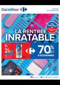 Prospectus Carrefour AUBERVILLIERS : La rentrée inratable
