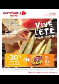 Prospectus Carrefour Market LOURDES : Vive l été, pique-nique