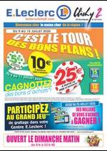 Prospectus E.Leclerc : C'EST LE TOUR DES BONS PLANS!