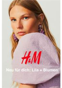 Catalogues et collections H&M Bern - Westside : Neu fur dich- Lila + Blumen