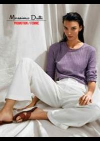 Prospectus Massimo Dutti Women Men Oostende : Promotion / Femme