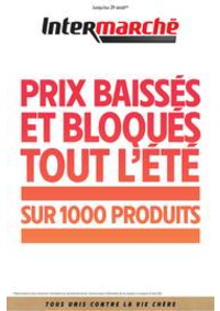 Prospectus Intermarché Super Equemauville : PRIX BAISSÉS ET BLOQUÉS TOUT L'ÉTÉ