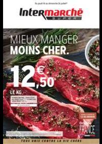 Prospectus Intermarché Super Villeneuve le Roi : MIEUX MANGER MOINS CHER.