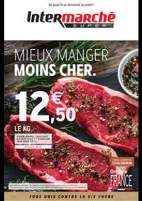 Prospectus Intermarché Super Chilly Mazarin : MIEUX MANGER MOINS CHER.