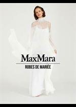 Prospectus Max Mara : Robes de Mariée