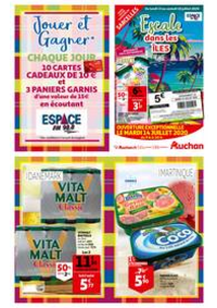 Prospectus Auchan SARCELLES Division Leclerc : ESCALE DANS LES ILES AUCHAN SARCELLES