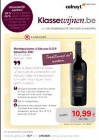 Prospectus Colruyt AVELGEM : Wijnrappel