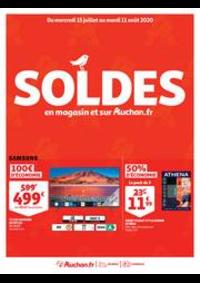 Promos et remises Auchan Leers : SOLDES : en magasin et sur Auchan.fr