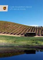 Prospectus UPS Access Point : Guide d'expédition d'alcool UPS dans le monde