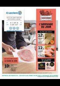 Prospectus E.Leclerc L'ISLE ADAM : L'ARRIVAGE DU JOUR