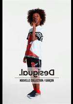 Prospectus Desigual : Nouvelle Collection / Garçcon