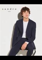 Prospectus Sandro : Nouveautés Homme