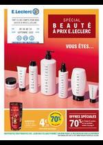 Prospectus E.Leclerc : Spécial beauté à prix E.Leclerc