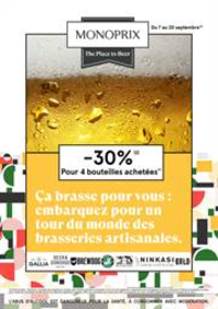 Prospectus Monoprix : The Place to Beer