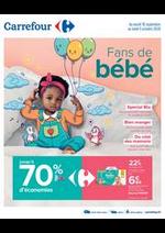 Promos et remises Carrefour : Fans de bébé