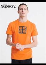 Prospectus Superdry : T- Shirts Pour Homme