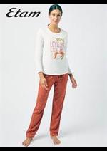 Prospectus Etam Lingerie : Pyjamas Femme