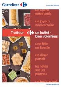 Prospectus Carrefour Villefranche De Rouergue : Traiteur - Un buffet bien volontiers