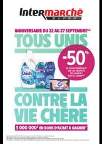 Prospectus Intermarché Super Mery-sur-Oise : TOUS UNIS CONTRE LA VIE CHÈRE
