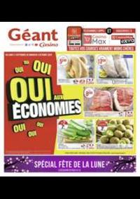 Prospectus Géant Casino SAINT DOULCHARD : Oui aux économies